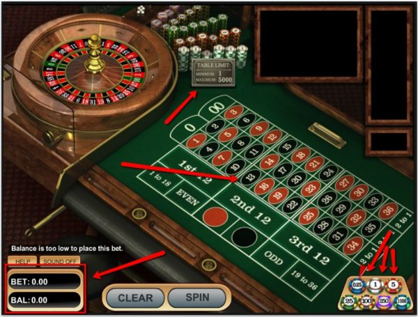 How much is multiplied on roulette table best free poker odds app